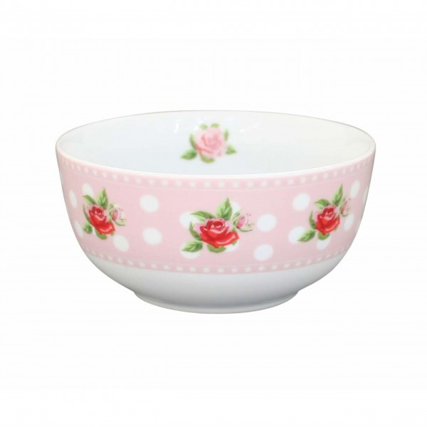 "Krasilnikoff Happy Bowl ""Dots n' Roses"""