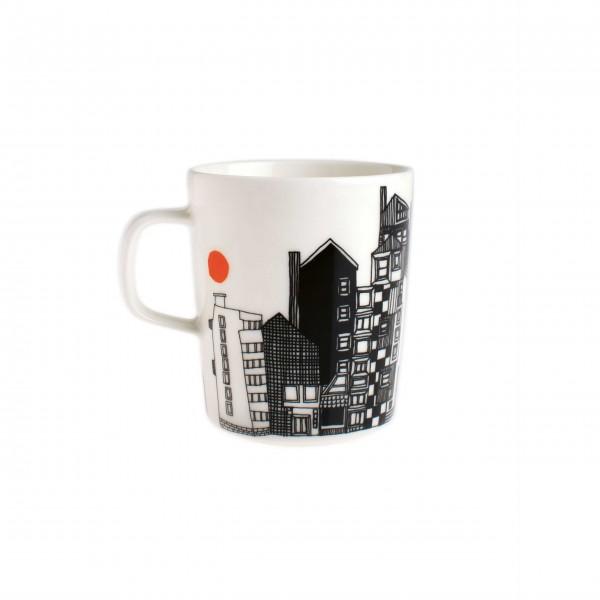 Besonderer Kaffee-Genuß: Porzellantasse von marimekko
