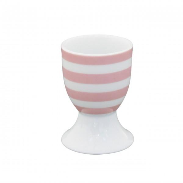 """Krasilnikoff Eierbecher """"Stripes"""" (Rosa)"""