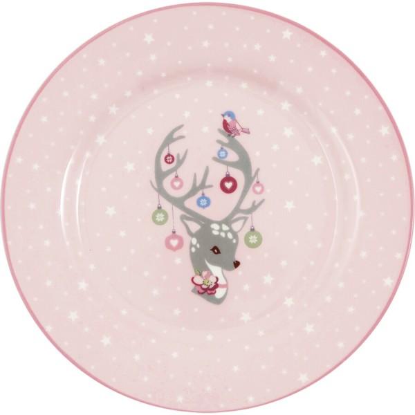 """GreenGate Kinder-Teller """"Dina"""" (Pale Pink)"""