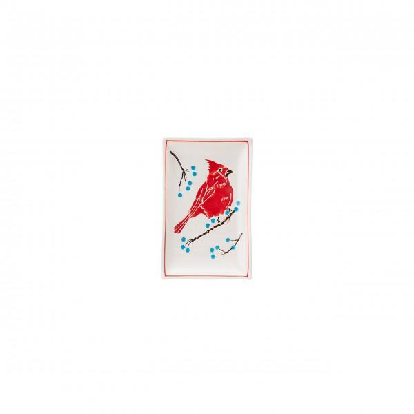 """Bloomingville Teller """"Christmas"""" im 4er-Set (Bunt)"""