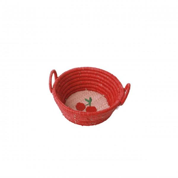 """Rice Aufbewahrungskorb """"Let´s Summer"""" - Mini (Rot)"""