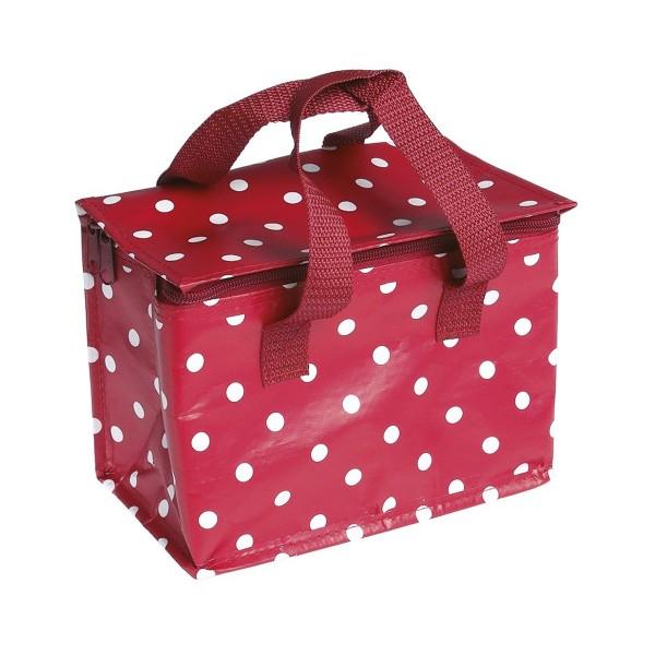 """Hübscher Picknick-Begleiter: die Lunch-Tasche """"Spot Red"""""""