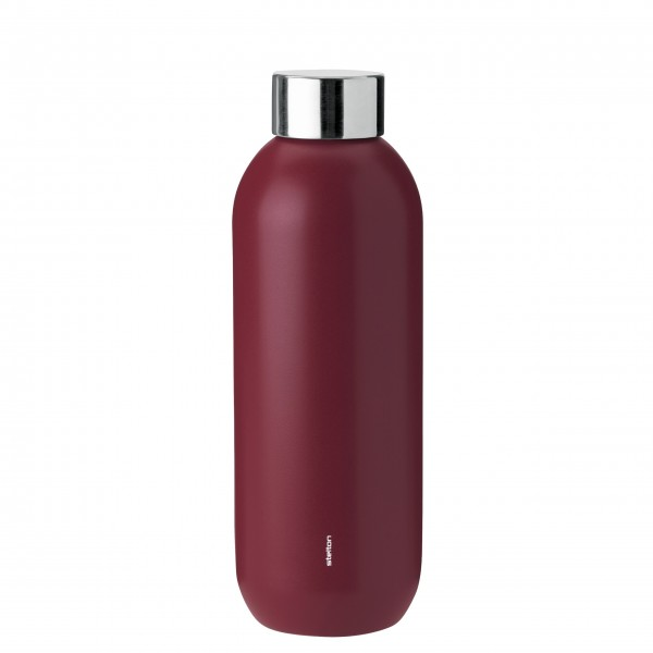 """Stelton Thermosflasche """"Keep Cool"""" - 0,6L - (Rot)"""