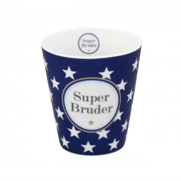 "Krasilnikoff - Happy Mug ""Super Bruder"""