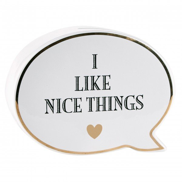"Miss Etoile Spardose ""I like nice things"""