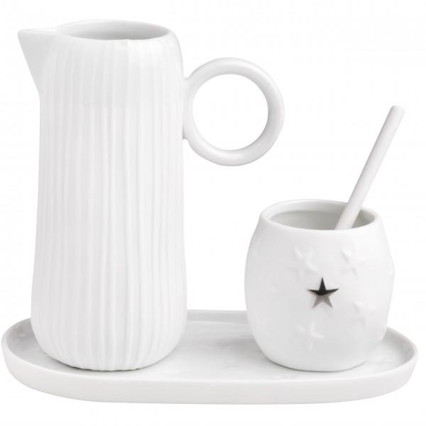 """Milch und Zucker Set """"DINING - Stars & Stripes"""" von räder Design"""