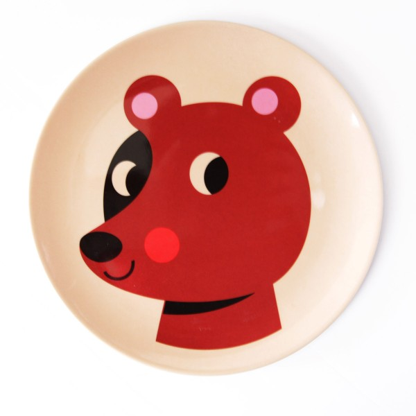Neuer Freund am Esstisch: Melamin Teller von OMM design