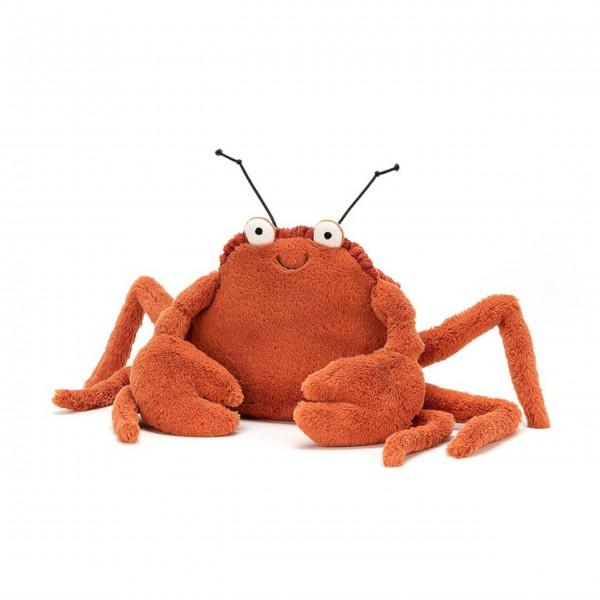 Kuschelweich mit witzigen Antennen: Crispin, die Krabbe