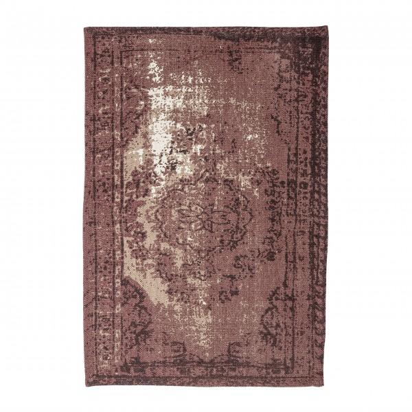 Bloomingville Orientalischer Teppich (Rot)