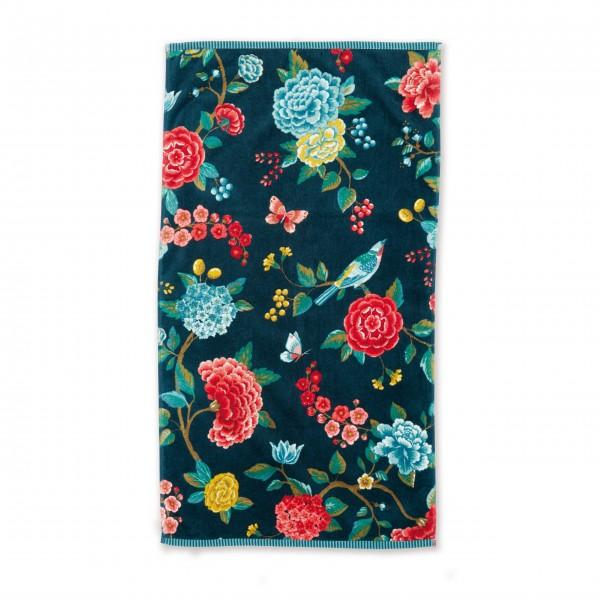 "Pip Studio Handtuch ""Good Evening"" - (Blau) 55x100 cm"