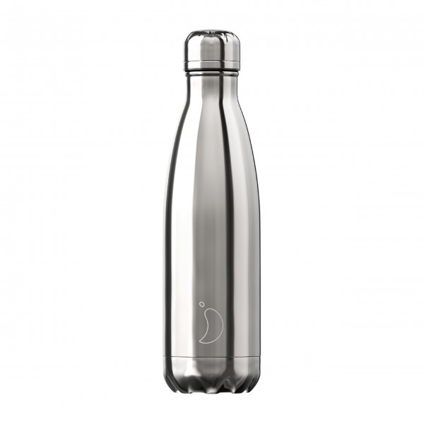 "CHILLY'S Bottle Isolierflasche ""Silber"" - 500 ml"