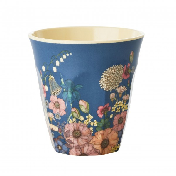 "Rice Melamine Becher ""Flower""-1"