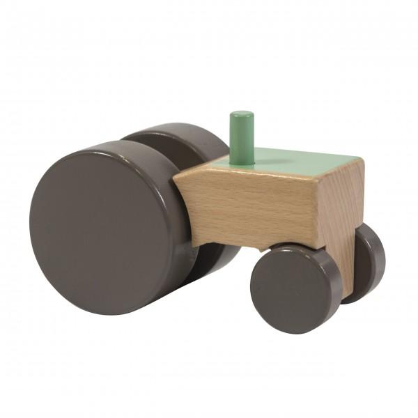 Traktor aus Holz von sebra