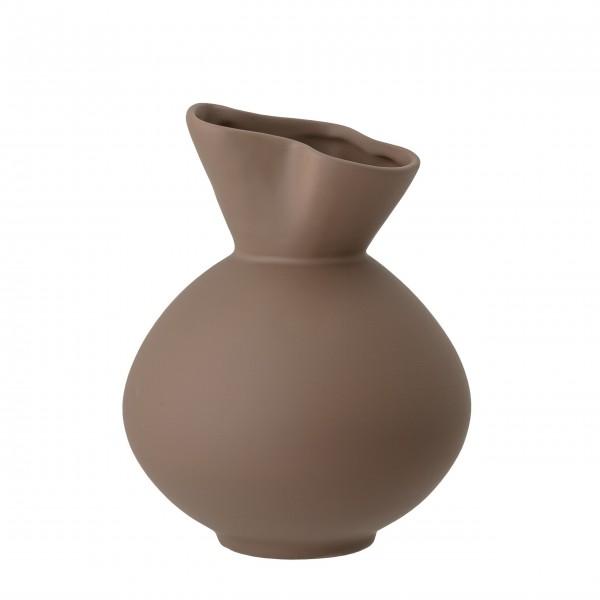 "Bloomingville Stein-Vase ""Nica"" (Braun)"