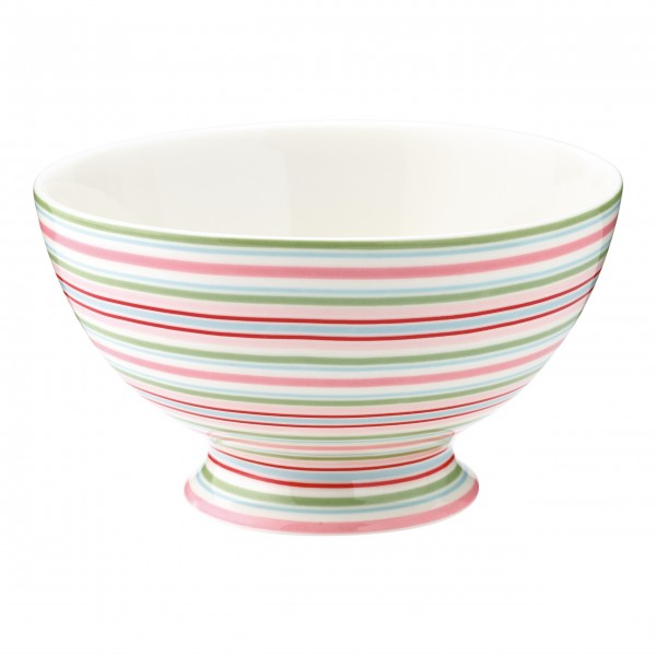"GreenGate Schüssel - French Bowl ""Silvia"" (Stripe White)"