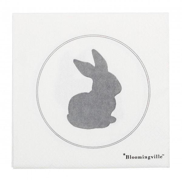 Papierservietten für Ostern: von Bloomingville