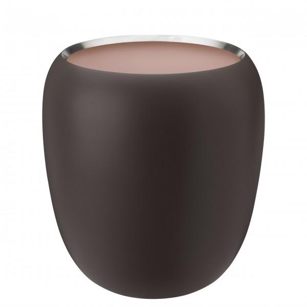 """Stelton Vase """"Ora"""" - Groß (Puder Dunkel)"""