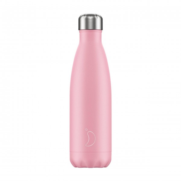 "CHILLY'S Bottle Isolierflasche ""Pastell Pink"" - 500 ml (Pink)"