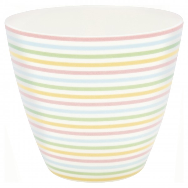 """GreenGate Latte Cup """"Ansley"""" (White)"""