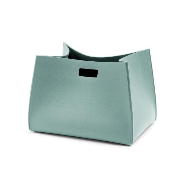 Filz-Tall-Box rechteckig (Hellblau/Aqua) von HEY-SIGN
