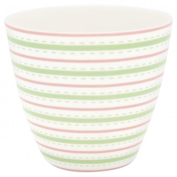 "GreenGate Latte Cup ""Sari"" (White)"