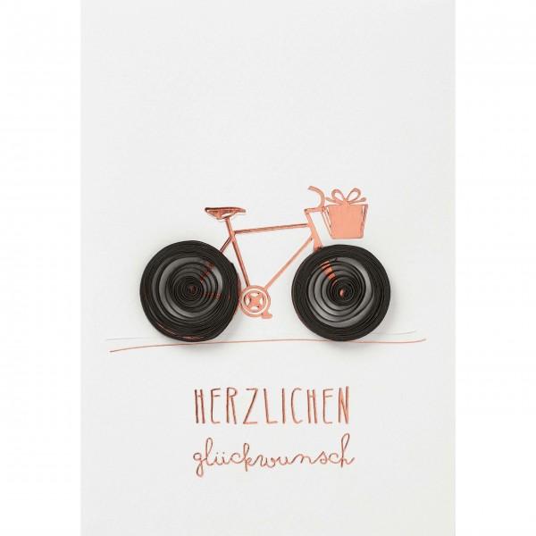 """Glückwunschkarte """"Herzlichen Glückwunsch"""" von räder Design"""