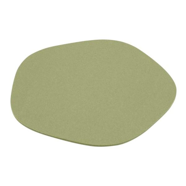 """Filz-Tischset """"Pebble"""" - 40 cm (Hellgrün/Pistazie) von HEY-SIGN"""