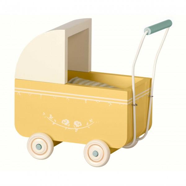 Niedlicher Puppenwagen für Micro-Tierchen von Maileg