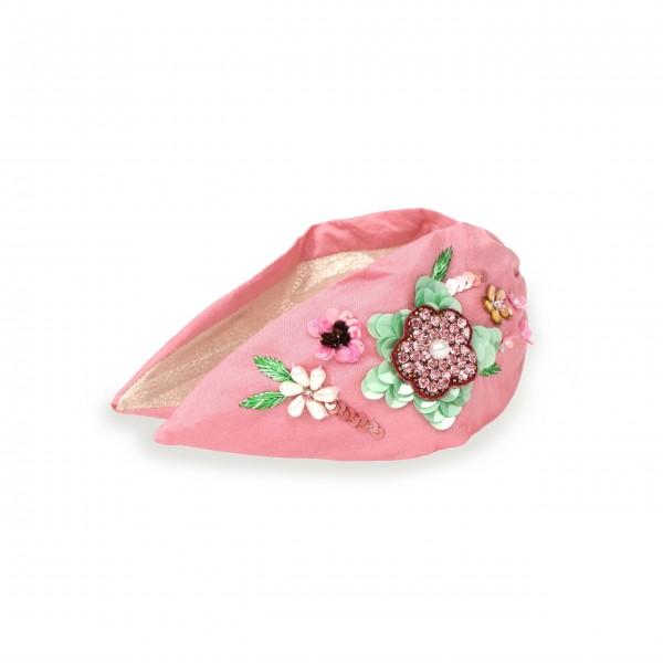 """Haarband """"Floral"""" (Pink) von Powder"""