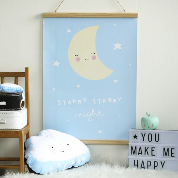 "Kinderposter ""Starry Starry Night"""