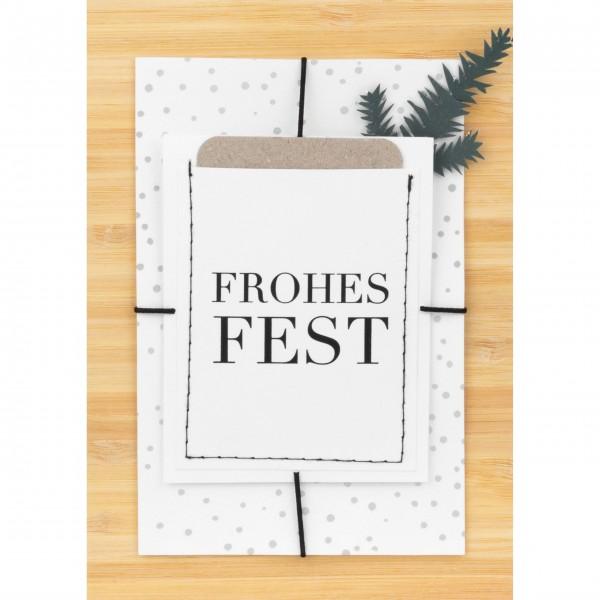 """Weihnachtskarte """"Frohes Fest"""" von räder Design"""
