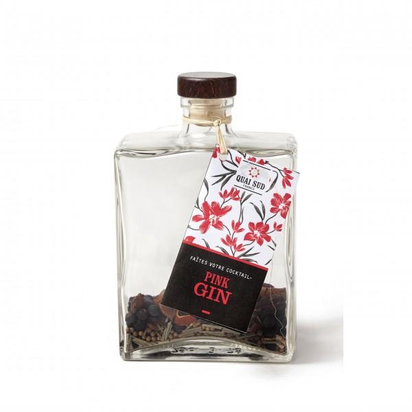 Wer kann schon zu pinkem Gin in der Flasche nein sagen?