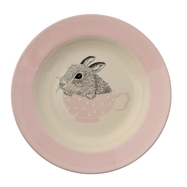 Keramikteller für kleine Naschmäuschen - von Bloomingville