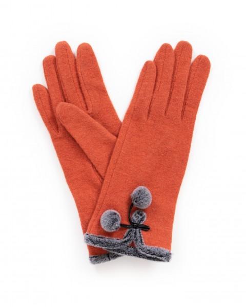 "Powder Handschuhe ""Betty"" (Orange)"