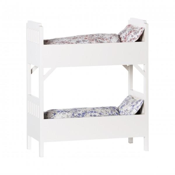 Maileg Stockbett aus Holz - Klein (Creme)