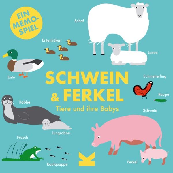 """Kinderspiel """"Schwein & Ferkel"""" von Laurence King"""