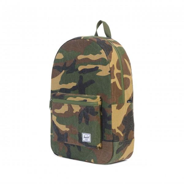 Praktischer Canvas-Rucksack im Camouflage-Look: von Herschel