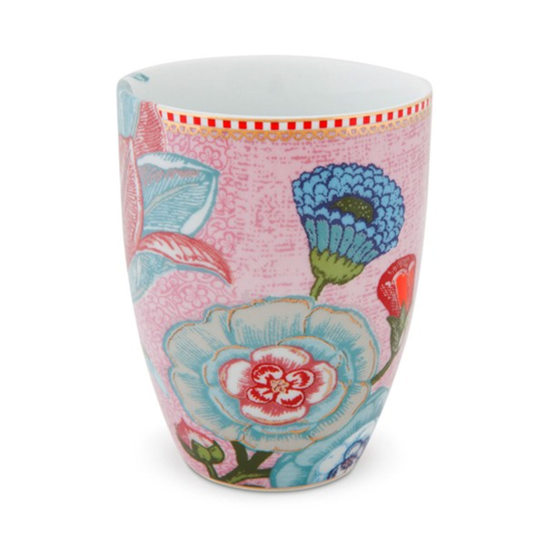 "Pip Studio Porzellanbecher ""Spring to Life"" (Pink)"