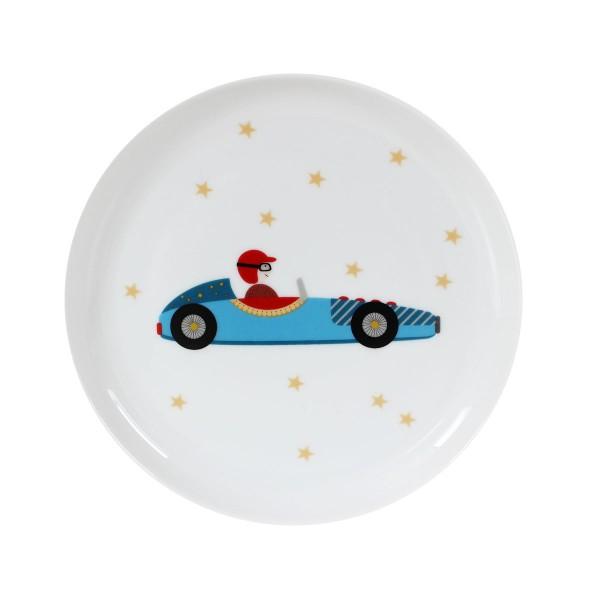Rennwagen-Teller für Kids