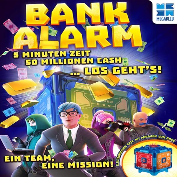 """Teamspiel """"Bank Alarm"""" von Megableu"""