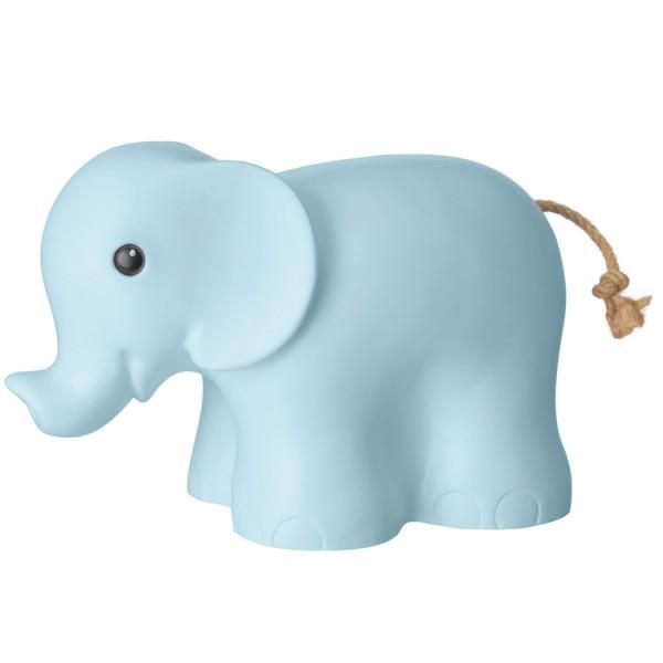 "HEICO Deko Leuchte ""Elefant"" (Hellblau)"