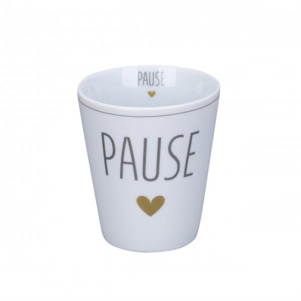 """Krasilnikoff Happy Mug """"Pause"""""""