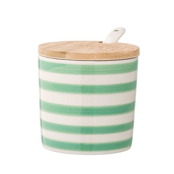 """Cooles Streifen-Design für Tisch und Küche - Zuckerdose """"Patrizia"""" von Bloomingville"""