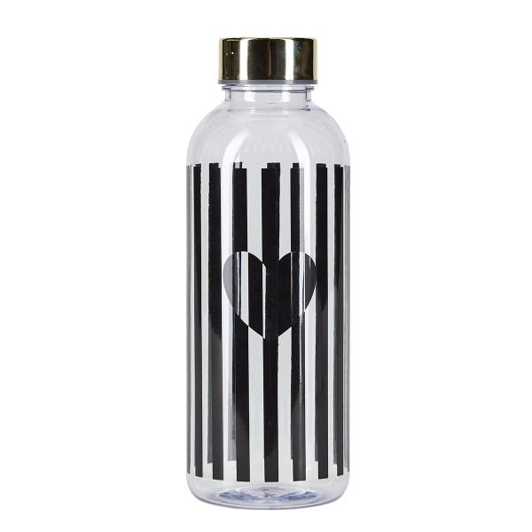 """Miss Étoile Wasserflasche """"Stripes"""" - cooler Look für unterwegs!"""