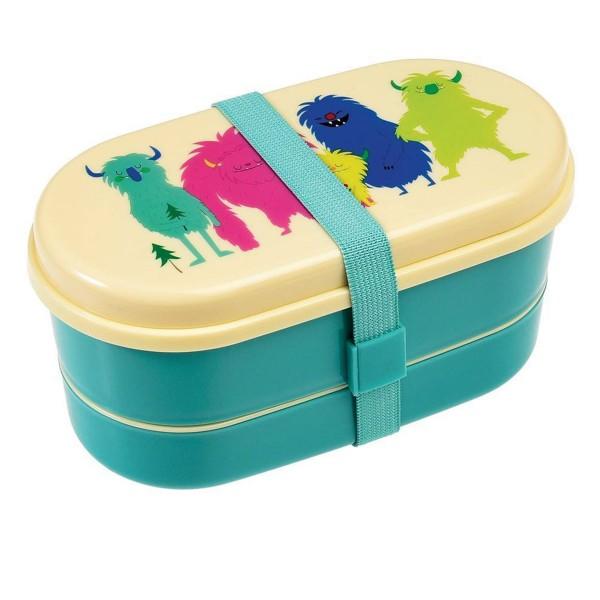 Tierisch süße Lunchbox mit Monstern