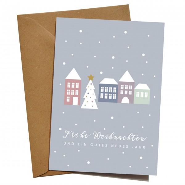 mimie&joe Weihnachtsdorf - Grußkarten