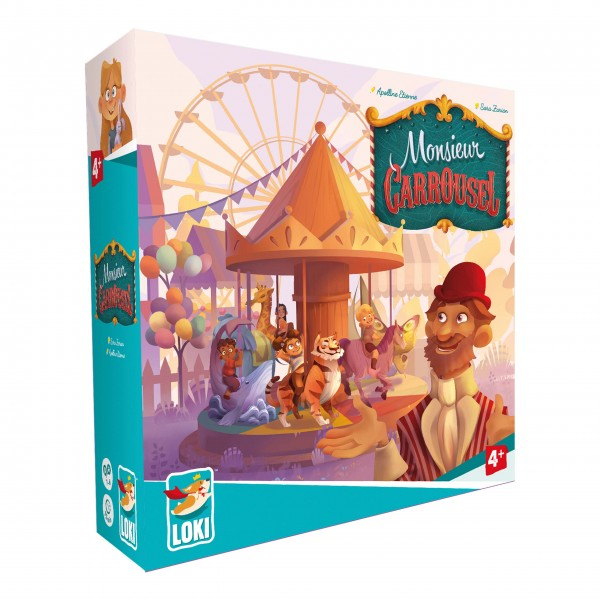 "Kinderspiel ""Monsieur Carrousel"" von iello"