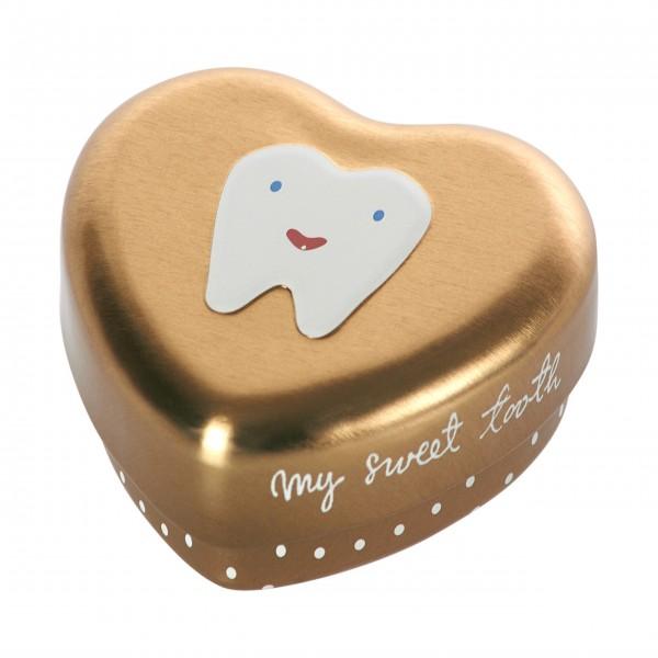 """Maileg Zahndose """"My Tooth box"""" (Gold)"""