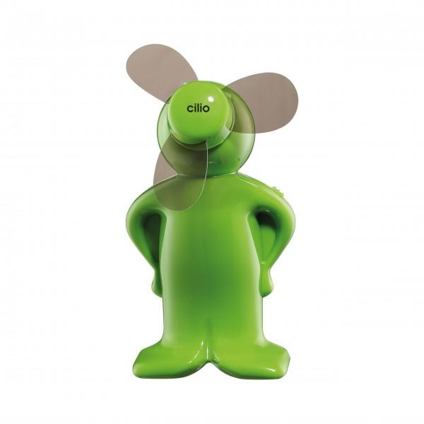 """Mit dem grünen Mini-Ventilator """"Ventoboy"""" - Classic auch im Sommer den Tag genießen!"""